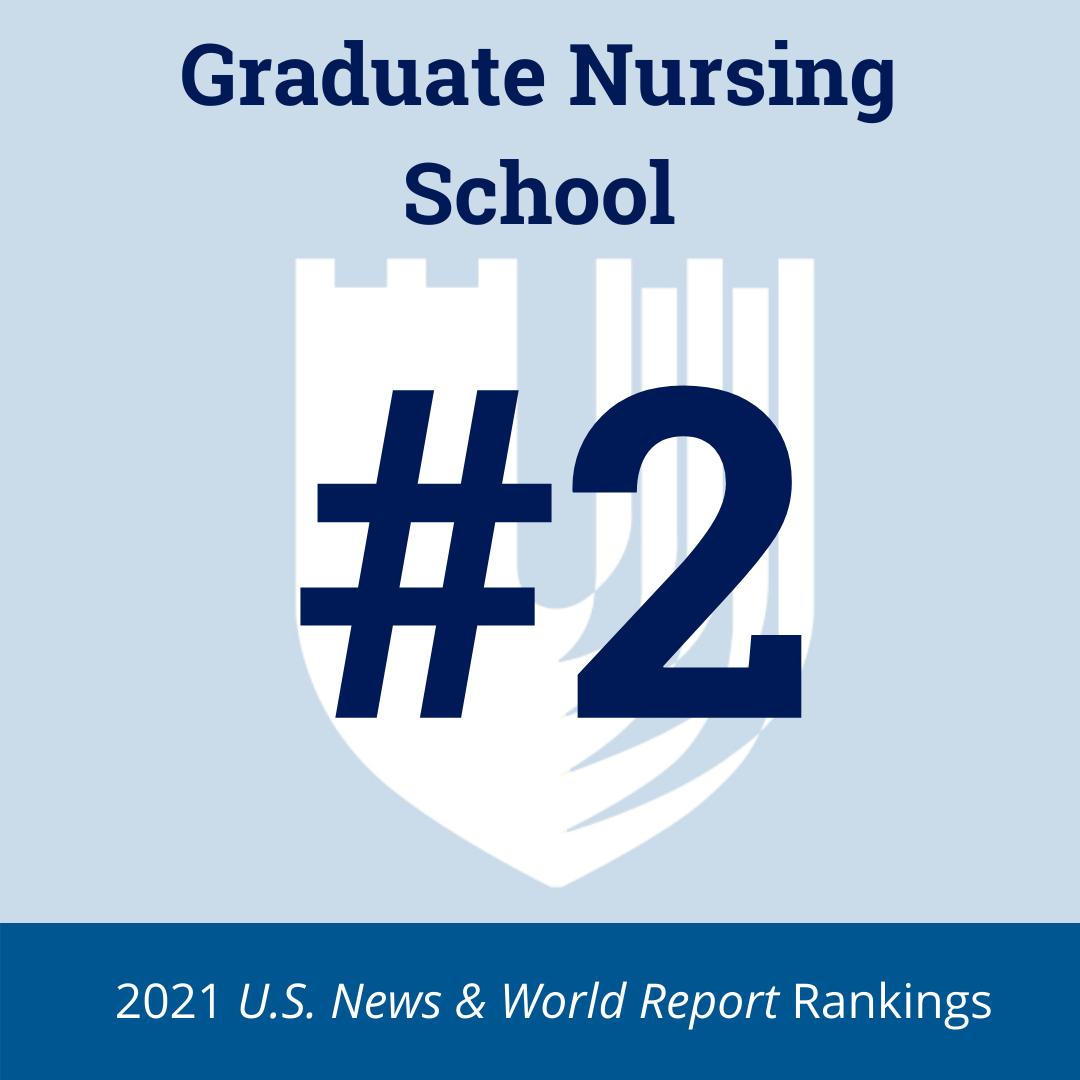 2021 Best Graduate Nursing School graphic