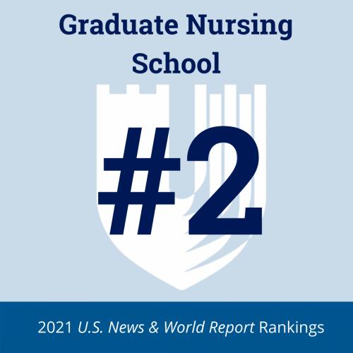 2021 Best Graduate Nursing School graphic